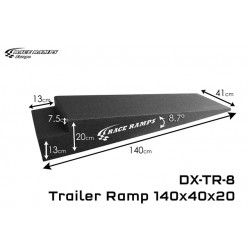 Trailer Ramp 140x40x20 2st