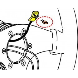 Airbagmotstånd Seabeach 2.0 Ohm