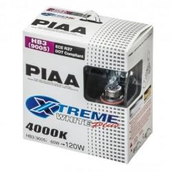 PIAA Xtreme White + HB3 9005 12V 60W=120W Par 4000K 12V
