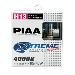PIAA Xtreme White + H13 9008 65/55W = 85/75W Par 4000K 12V