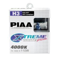 PIAA Xtreme White + H3 55W=110W Par 4000K 12V